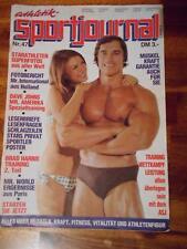 athletik SPORT JOURNAL bodybuilding muscle magazine ARNOLD SCHWARZENEGGER #47