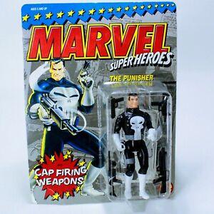 """Marvel Comics Super Heroes The Punisher - Toy Biz Vintage ~4.75"""" Action Figure"""