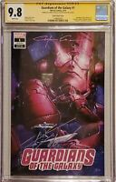 Guardians of the Galaxy #1 Clayton Crain Variant CGC SS 9.8 2x Cates & Crain