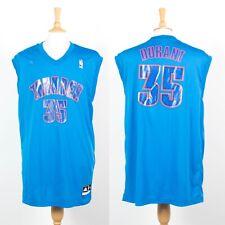 Hombre Oklahama NBA Jersey Baloncesto Chaleco adidas Kevin Durant #35 2XL XXL