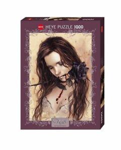 Heye Puzzles - 1000 Piece Jigsaw  Puzzle - Dark Rose  HY29430