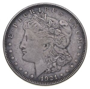 1921-D Morgan Silver Dollar - US Coin *755