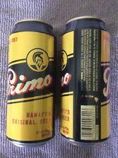 HAWAIIAN PRIMO - HAWAII'S ORIGINAL BEER 16 oz EMPTY can