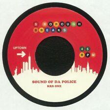 "KRS ONE Sly Stone Sound Of Da Police 7"" rap hip hop funk OG Breaks 45 RARE"