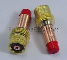 45V26 2.4mm TIG Gas Lens Collets Body Fit TIG Torch SR PTA DB WP  17 18 26  2PK