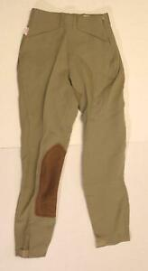 The Tailored Sportsman Women's Trophy Hunter Mid Rise Breeches BF5 Tan Size 22