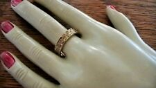 14K YELLOW GOLD  BAND RING COLUMBIA SIZE 9.25