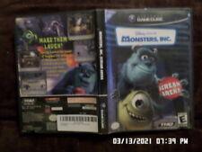 Monsters, Inc. Scream Arena (Nintendo Gamecube) w/ Case