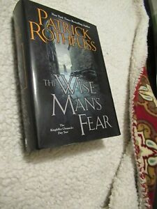 THE WISE MAN'S FEAR Patrick Rothfuss 2011 Excellent Condtion