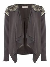 Embellished Coats & Jackets without Fastening for Women