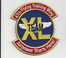 """PATCH USAF 47TH FLYING TRAINING WING TEAM XL NEW VERSION  04-2016       4"""""""