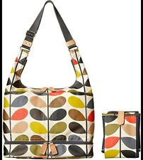 BNWT Orla Kiely classic stem baby changing bag RRP £236
