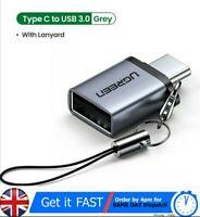 UGREEN USB C Adapter Type C to USB 3.0 Adapter Thunderbolt 3 Type-C Adapter OTG