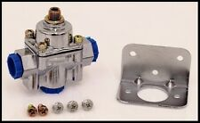 HOLLEY CHROME CARBURETED FUEL PRESSURE REGULATOR, 4.5-9 PSI,  # 12-803-REG ONLY