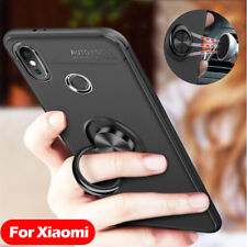 SHOCKPROOF Ring Stand Cover For Xiaomi Redmi 4X Note 5 Pro Mi 6 8 SE Phone Case