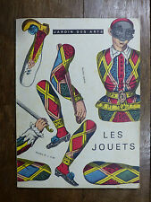 LES JOUETS - Revue Jardin des Arts n°74 - 1961 JOUETS ANTIQUES jeu de l'oie...
