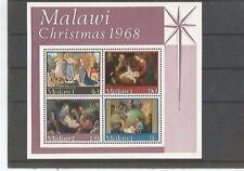 Weihnachtsblock 1986 aus Malawi