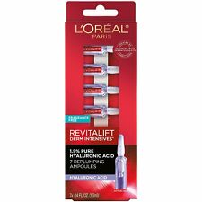 L'Oreal Revitalift Derm Intensives 1.9% Hyaluronic Acid ~ 7 Replumping Ampoules