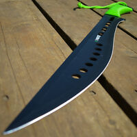 "25"" FULL TANG Tactical Survival ZOMBIE HUNTING MACHETE Sword Knife w/ SHEATH"