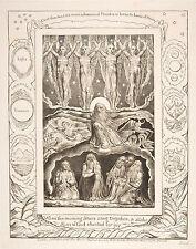 William Blake Engravings: Book of Job: The Creation:  Fine Art Print