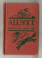 ALLSPICE by COBB 1925 1st THE ADVENTURES OF DADDY FOX, GINGER BEAR * ILLUSTRATED