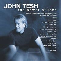 *Rare Out of Print* 2-CD..The Power of Love by John Tesh *26 Songs* SEALED! NEW!