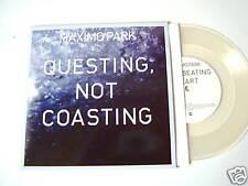 "MAXIMO PARK  7""clean Vinyl Single Questing, Not Coasting NEW"