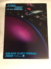1993 WILLIAMS STAR TREK THE NEXT GENERATION FACTORY ORIGINAL PINBALL FLYER