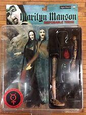 Marilyn Manson Action Figure Disposable Teens Fewture Models.