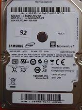 500 GB Samsung ST500LM012 HN-M500MBB /Z4 / 04.2012 / PCB: M8_REV.03 #92