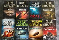Clive Cussler - Lot of 8 Novels - Free Post