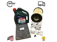 GENUINE FORD 1.0L Ecoboost Service Kit Focus Mk3/4 2011- with GENUINE OIL 5W20