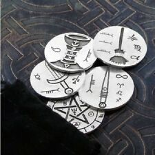 FULL SET of 5 Traveling Altar Spell Charms Tokens Totem Magick Wiccan Pagan