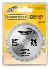 "RW9231 Rockwell VersaCut 3-3/8"" 24T Carbide-tipped Circular Saw Blade"