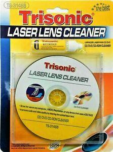 CD DVD CD-ROM Laser Lens Cleaner Compact Disc Dry/Wet Laser Lens Cleaning Kit