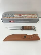 Case xx Fixed Blade Hunter Knife Polished Leather Handle 00385