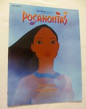 Book of sheet music for Trumpet of songs from musical Pocahontas