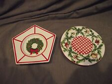 Set of 2 Yankee Candle Small Candle Trays - For Small Jar Candles