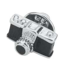 Fashion Men Women Suit Shirt Pins Collar Small Camera Brooch Corsage Pin