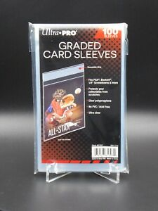 BESTPREIS 100 Ultra PRO Graded Card Sleeves Karten Schutzhüllen Grading Slab PSA