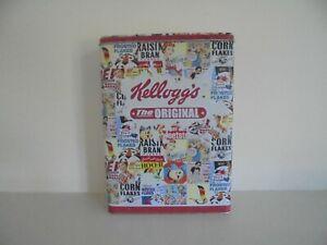 KELLOGG'S - THE ORIGINAL - COLLAGE - STORAGE TIN/CADDY  -  EMPTY TIN!