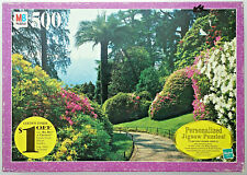 jigsaw puzzle 500 pc Croxley Comersee Italy floral park walk MB