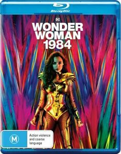 Wonder Woman 1984 Blu-ray BRAND NEW Region B
