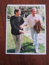 WILLIAM SHATNER Leonard Nimoy  8x10 photo Star Trek