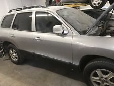 2001-2006 Hyundai Santa Fe Right Side Power Mirror Silver