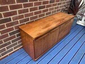Mid Century Wooden Meredew Sideboard/storage Unit, Drinks Cabinet