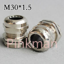 1pc Metric System M30*1.5 304Stainless Steel Cable Glands Apply to Cable 13-18mm