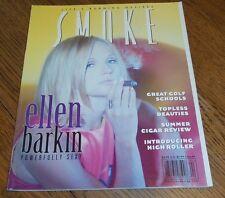 Smoke Magazine Summer 1999 Ellen Barkin Topless Beauties, Cigar Review, Golf