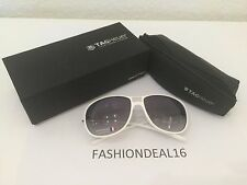 New Authentic Tag Heuer White TH6043 107 Sunglasses