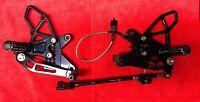 Vortex Rearset Footpeg Pedal Kawasaki Ninja ZX6R ZX636 13-17 Quick Shifter 19.41